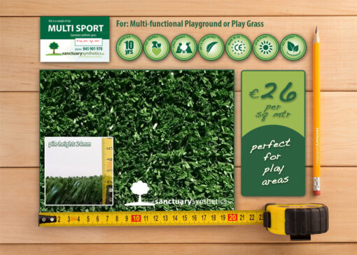 Sanctuary Multi Sport Playgrass