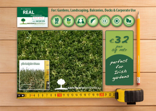 Sanctuary REAL artificial grass