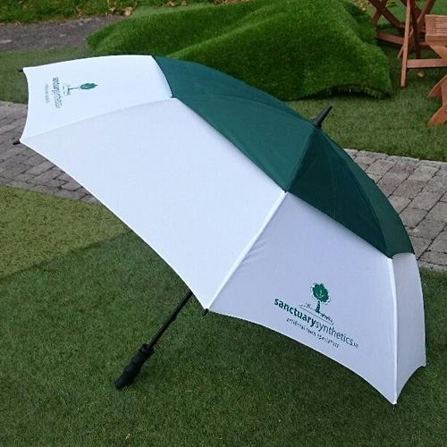 Sanctuary branded umbrella