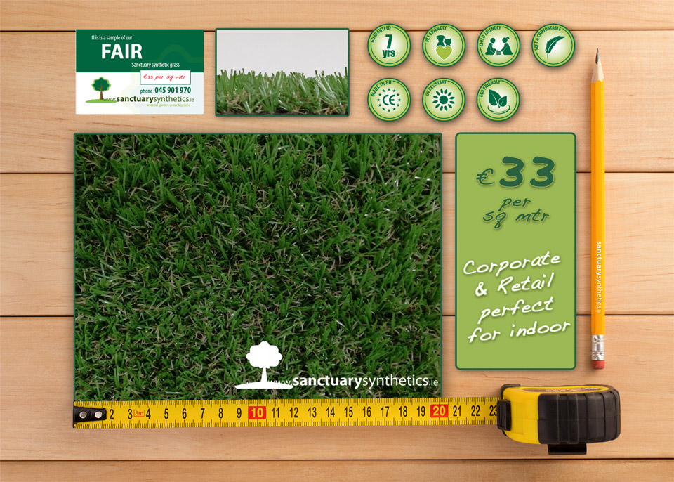 Sanctuary FAIR - indoor fire resistant grass