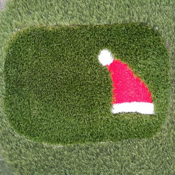 Christmas Artificial Grass Doormat