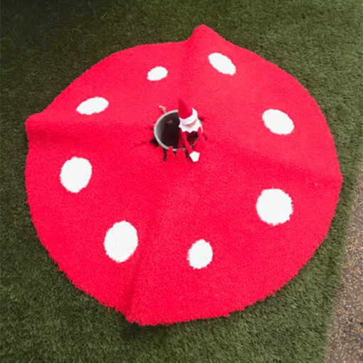 Christmas Toadstool Tree Skirt