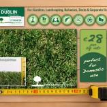 Dublin artificial grass lawns